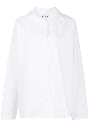 Marni relaxed long sleeve shirt - White