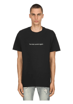 I've Lost Control Again Cotton T-shirt
