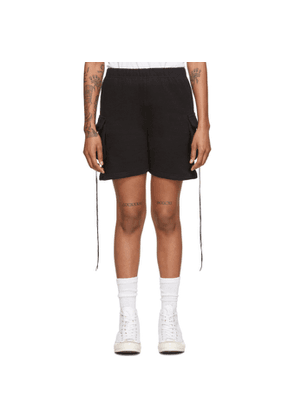 Youths in Balaclava Black Cotton Shorts