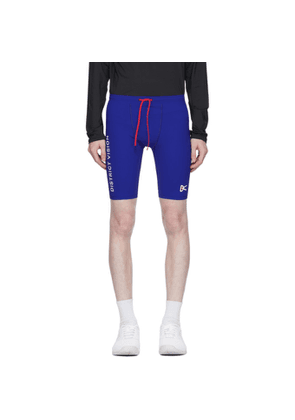District Vision Blue TomTom Half-Tights Shorts