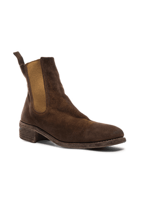 Guidi Stag Chelsea Boots in Brown - Brown. Size 44 (also in ).