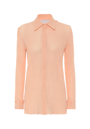 Exclusive to Mytheresa – Cruz cotton and silk blouse