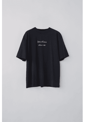 Acne Studios FN-WN-TSHI000136 Black  Broken logo t-shirt