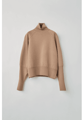 Acne Studios FN-WN-KNIT000179 Desert beige  High neck sweater