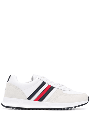Tommy Hilfiger Signature Leather Lace-up sneakers - White