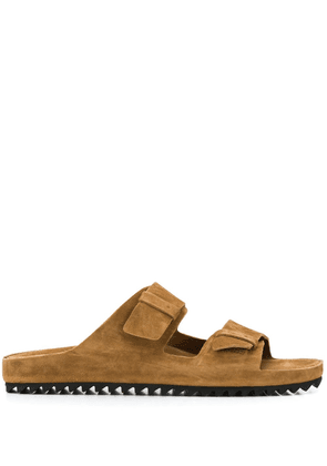 Officine Creative double-strap sandals - Brown