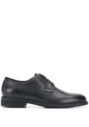 BOSS block heel Derby shoes - Blue