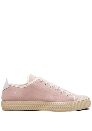 Car Shoe logo low-top sneakers - PINK