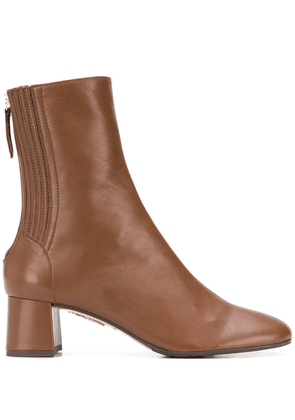 Aquazzura Saint Honroe' Bootie - Brown