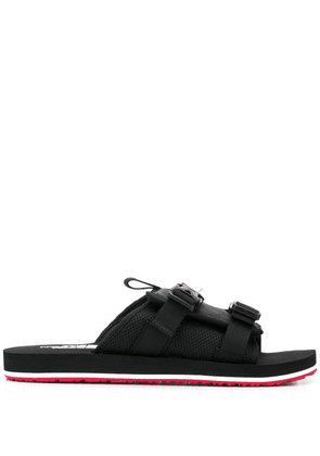The North Face EQBC buckled slides - Black