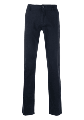 BOSS slim fit chino trousers - Blue