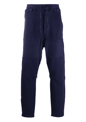 Stone Island Shadow Project high-waisted track trousers - Blue