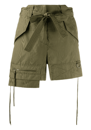 Dorothee Schumacher Sporty Elegance layered shorts - Green