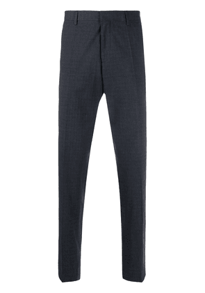 BOSS slim-fit tailored trousers - Blue
