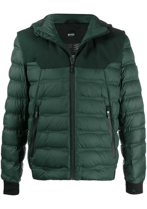Boss Hugo Boss quilted padded jacket - Green