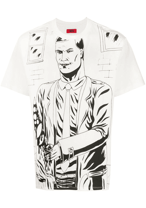 424 illustrated T-shirt - White