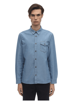 Michel Cotton Chambray Shirt