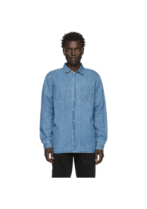 Saturdays NYC Indigo Denim Kenmare Shirt