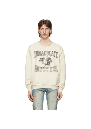 Rhude White Immaculate Conception Sweatshirt