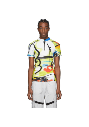 Off-White Multicolor Futura Edition Spray Cycling T-Shirt