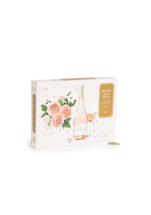 Shopbop @Home Rose All Day 2-in-1 Shaped Puzzle Set