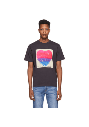 Coach 1941 Black Richard Bernstein Edition Jello Heart T-Shirt