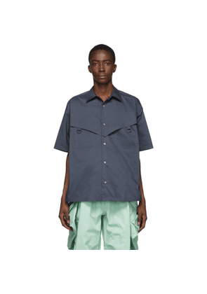 Ambush Navy Short Sleeve Shirt