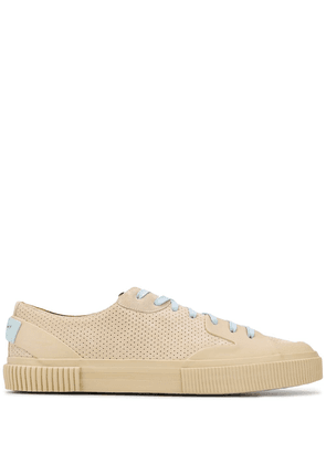 Givenchy perforated sneakers - NEUTRALS