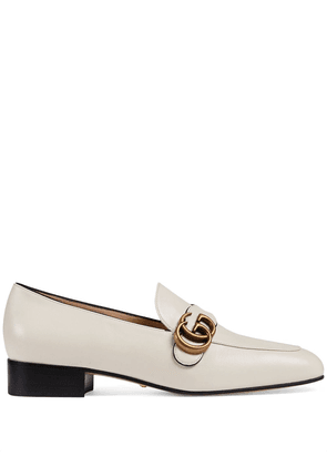Gucci Double G loafers - White