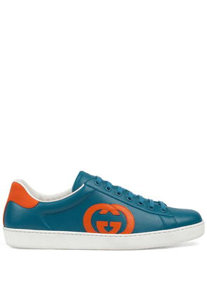Gucci GG Ace low-top sneakers - Blue