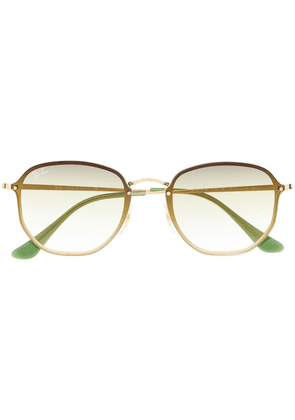 Ray-Ban square frame sunglasses - GOLD