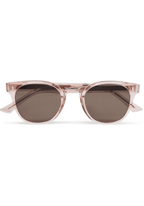 Cutler and Gross - Round Frame Acetate Sunglasses - Men - Pink