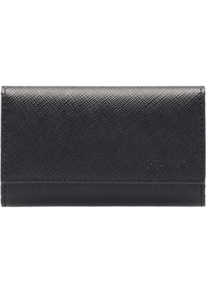 Prada continental key-holder wallet - Black