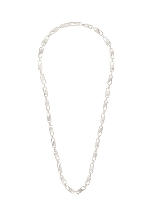 AMBUSH chunky chain-link necklace - SILVER