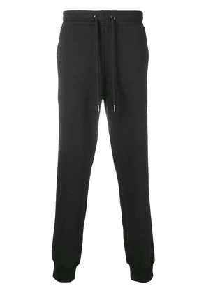 Versace loose track trousers - Black