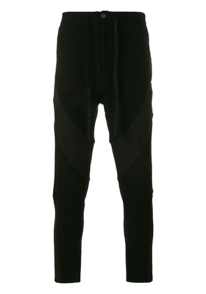 Ann Demeulemeester panelled tailored trousers - Black