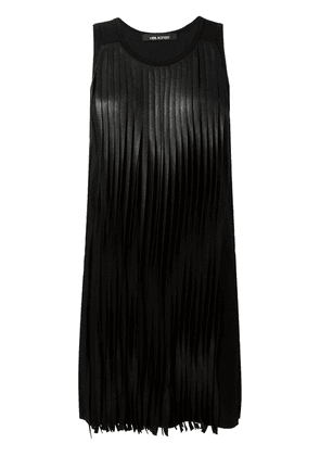 Neil Barrett fringed dress - Black