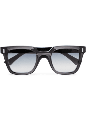 Cutler and Gross - Square-Frame Acetate Sunglasses - Men - Gray