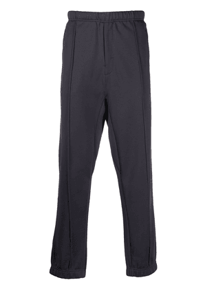 Lemaire pleated detail zip pocket track pants - Grey