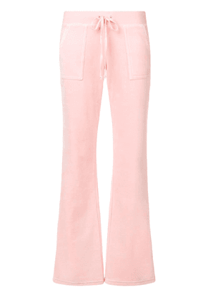 Juicy Couture Swarovski personalisable velour track pants - PINK