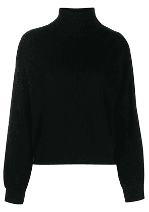 T By Alexander Wang classic polo jumper - Black
