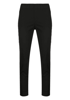 Semicouture slim fit cropped trousers - Black