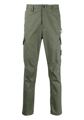 Stone Island tapered cargo trousers - Green