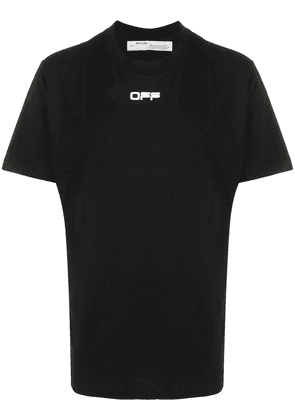 Off-White airport tape T-shirt - Black