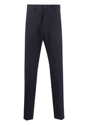BOSS straight leg tailored trousers - Blue