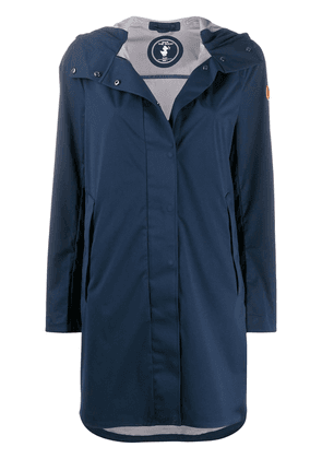 Save The Duck D4604W BARKX hooded coat - Blue