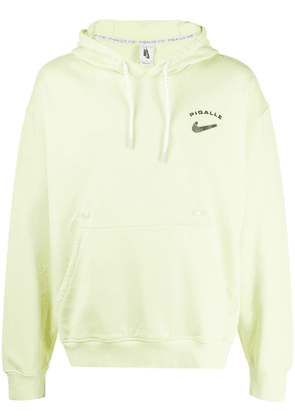 Nike x Pigalle logo patch hoodie - Green