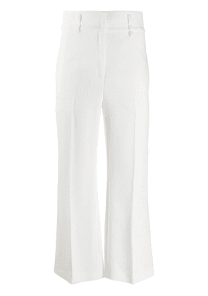 Emilio Pucci flared cropped trousers - White
