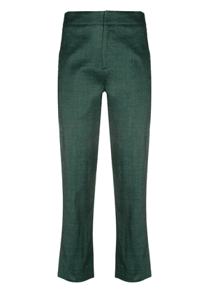 Tela cropped cotton trousers - Green