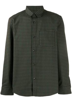 A.P.C. checked shirt - Green